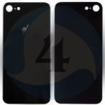 16589 replacement for iphone 8 back cover black 1