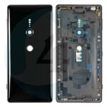 17951 replacement for sony xperia xz2 back cover with middle frame liquid black 2