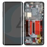 2011100059 oneplus 7pro lcd scherm display with frame black