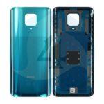 55050000771 Q Backcover green For Xiaomi Redmi Note 9 Pro M2003 J6 B2 G battijercover