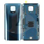 550500009 K4 J Backcover grey black For Xiaomi Redmi Note 9 Pro M2003 J6 B2 G batterijcover