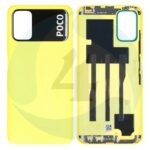 55050000 QL9 X batterijcover Backcover Service Pack Yellow For Xiaomi Poco M3 M2010 J19 CG