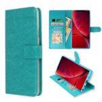 AAA boek turquoise-hoesje-case-schutzhulle-coque-cover-smartphone-book case-boekmodel