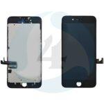 Apple i Phone 7 Plus Display plus Touchscreen plus Metal Plate Aplus High Quality Black screen scherm