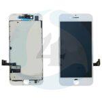 Apple i Phone 7 Plus Display plus Touchscreen plus Metal Plate Aplus High Quality White screen scherm