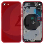 Apple i Phone replacement for Backcover batterij cover Se 2020 8 G red