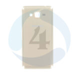 Backcover Gold For Samsung Galaxy SM G530 F Grand Prime