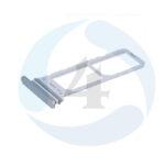 Dual Sim Tray Silver For Samsung Galaxy N970 F Note 10
