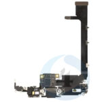 For Apple i Phone 11 Pro Max charger connector Black