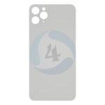 For Apple i Phone 11 Pro backcover glas White