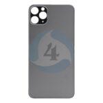 For Apple i Phone 11 Pro max backcover glas black