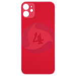 For Apple i Phone 11 backcover battery cover red big holl