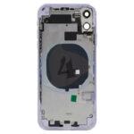 For Apple i Phone 11 batterij cover backcover housing Purple