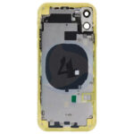 For Apple i Phone 11 batterij cover backcover housing Yellow