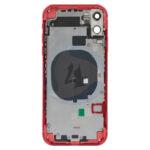 For Apple i Phone 11 batterij cover backcover housing red