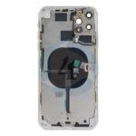 For Apple i Phone 11 pro max batterij cover backcover housing White