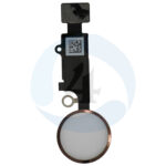 For Apple i Phone 8 Se 2020 Home Button Flex Cable for i Phone 7 7 Plus 8 8 Plus SE 2020 Rose gold