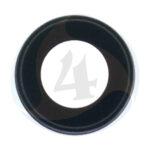 For Apple i Phone 8 Se 2020 camera lens frame Black