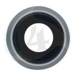 For Apple i Phone 8 Se 2020 camera lens frame Silver