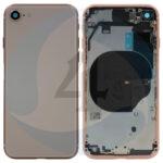 For Apple i Phone 8 Se 2020 ear Back cover Gold