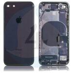 For Apple i Phone 8 Se 2020 ear Back cover black org pulled