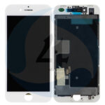 For Apple i Phone 8 Se 2020 lcd display scherm AAA plus White