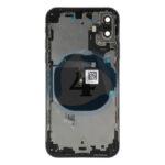 For Apple i Phone Xs batterij cover backcover housing black