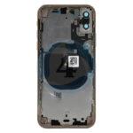 For Apple i Phone Xs batterij cover backcover housing gold