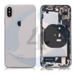 For Apple i Phone Xs batterij cover backcover housing pulled White