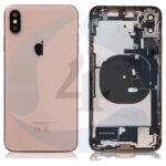 For Apple iphone xs max backcover housing Gold Pulled