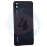 For Huawei P20 batterij cover back cover Black