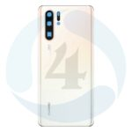 For Huawei P30 display backcover batterij cover White