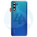For Huawei P30 display batterij cover backcover blue