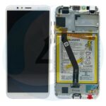 For Huawei Y6 2018 Service pack lcd scherm display screen white