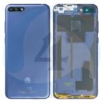 For Huawei Y6 2018 batterij cover backcover blue