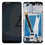 For Huawei Y9 2018 lcd screen display scherm Black with frame