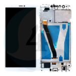 For Huawei Y9 2018 lcd screen display scherm White with frame