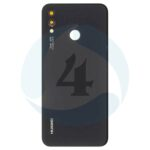 For P20 lite backcover battery cover black