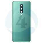 For oneplus 8ivatterij cover back cover Green