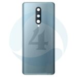 For oneplus 8ivatterij cover back cover silver