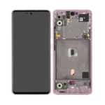 GH82 23100 C LCD Service Pack Pink For Samsung Galaxy A51 5 G SM A516