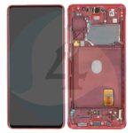 GH82 24214 E samsung galaxy G780 G781 S20fe lcd service pack scherm display red