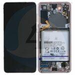 GH82 24716 D LCD Service Pack Pink For Samsung Galaxy S21 5 G SM G991 lcd scherm display screen