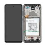 GH82 25541 A LCD Service Pack Black For Samsung Galaxy A72 SM A725