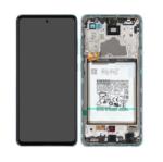 GH82 25541 B LCD Service Pack Blue For Samsung Galaxy A72 SM A725