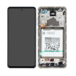 GH82 25541 D LCD Service Pack White For Samsung Galaxy A72 SM A725