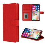 HQ boek rood-hoesje-case-schutzhulle-coque-cover-smartphone-book case-boekmodel