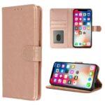 HQ boek roségoud-hoesje-case-schutzhulle-coque-cover-smartphone-book case-boekmodel