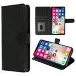 HQ boek zwart-hoesje-case-schutzhulle-coque-cover-smartphone-book case-boekmodel