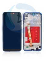 HUAWEI P20 Lite LCD touch frame blauw